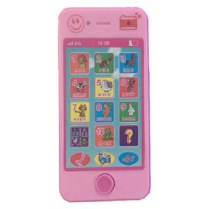 Телефон для развития ребёнка (розовый)