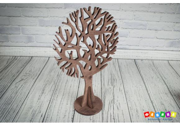 Дерево на подставке цвета мокко