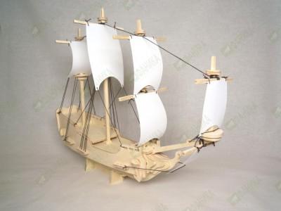 Корабль модель для самостоятельной сборки