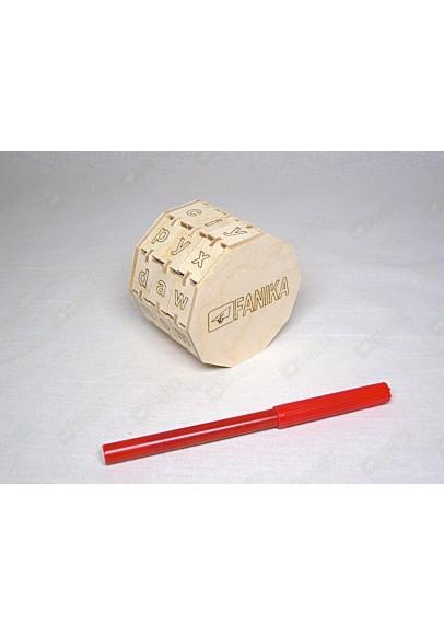 Буквенный цилиндр с английскими буквами (трёхколёсный)