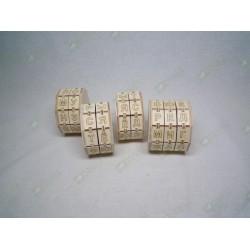 Буквенные цилиндры набор из 4 штук