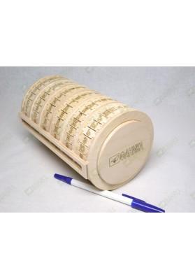Буквенный цилиндр большой (полный алфавит)