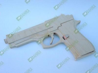 Пистолет стреляющий резиночками (резинкострел)