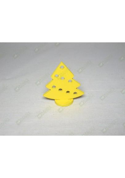Ёлочки жёлтые  фигурки 12 штук