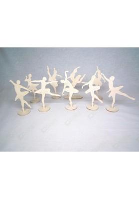 Фигурки Балерины (9 штук)