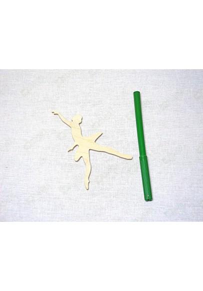 Фигурка для декора Балерина