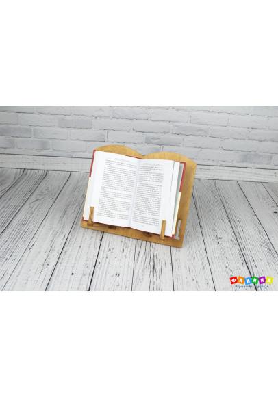 Подставка под книгу с таблицей умножения и алфавитом