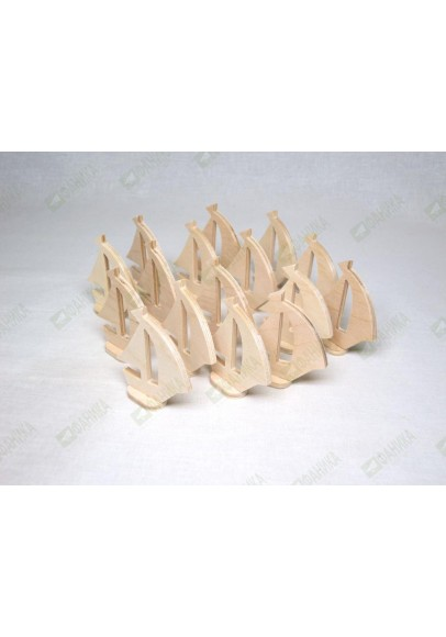 Кораблики фигурки 16 штук
