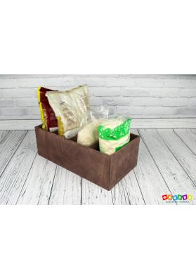 Ящик для круп цвет мокко