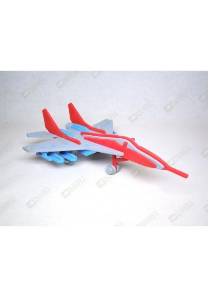 Самолёт Миг 29 цветной