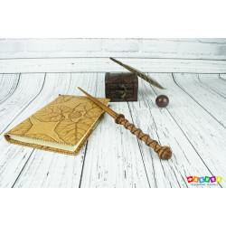 Волшебная палочка деревянная (цвет орех)