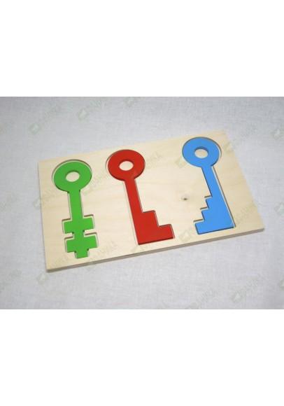 Вкладыш Ключи