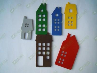 Домики цветные (набор 1)