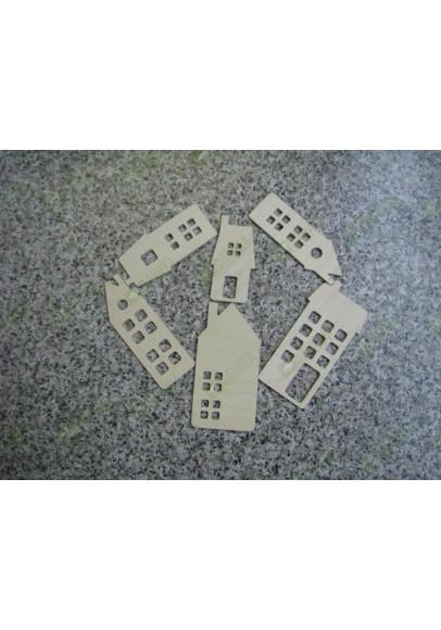 Домики для раскрашивания