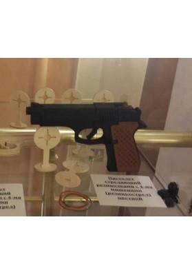 Пистолет стреляющий резиночками (резинкострел) цветной