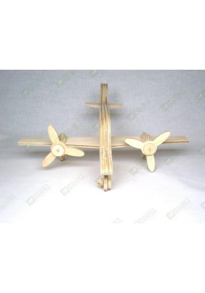 Самолёт двухмоторный Вираж модель для сборки