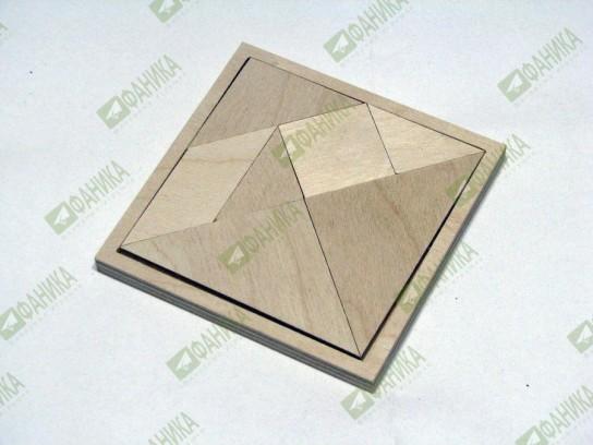 Танграм деревянный
