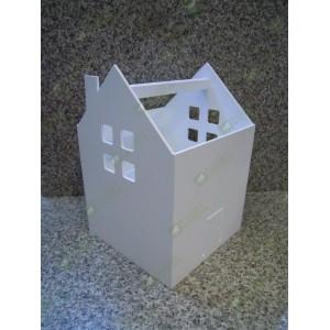 Ящик домик переноска белый
