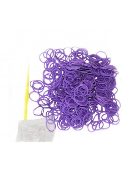 Резиночки фиолетовые